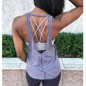 3/$81💗4/$90 Lululemon Intended Open Back Tank
